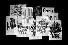 FFFFOUND! | Festival de teatro WAA #trivio #festival #design #graphic #we #trivitown #posters #are #teathre #alive #javier