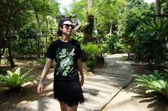 Plants T-shirt KFKS #tshirt #style #Hawaii #Bali #black #design #kfksstore