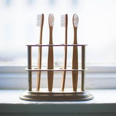 Eco-Friendly Guest Toothbrush Set #tech #gadget #ideas #gift #cool