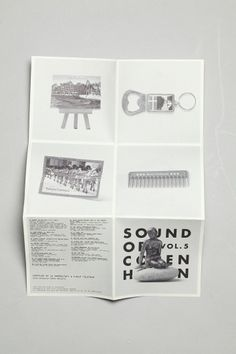 Sound of Copenhagen  Philip Battin Studio #graphic design #packaging design