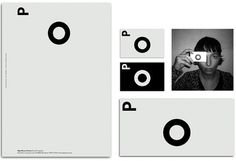 Natalia Cuadrado #typography #type #branding #business card #black and white #spain #barcelona #letterhead #olga planas #natalia cuadrado