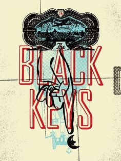 The Black Keys #typography #black #poster #band #keys