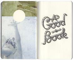 sketchbook-spread-19.jpg (1000×813) #lettering #sketchbook #drawn #type #collage #hand #typography
