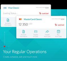 MTS Bank Online on Behance #ui
