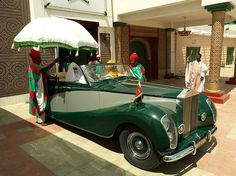 The Emir of Kano's Rolls Royce #monarch #photography #nigerian #king