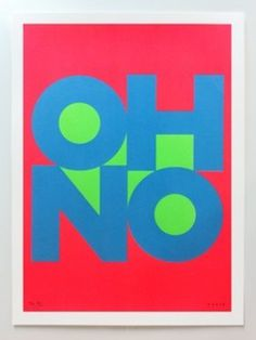 OH NO - James Joyce #typography