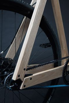 Wooden Bicycle_2 #wood #bicycle