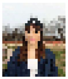 Self-portrait Project on the Behance Network #nurdinova #design #graphic #pixel #karina #illustration #portrait