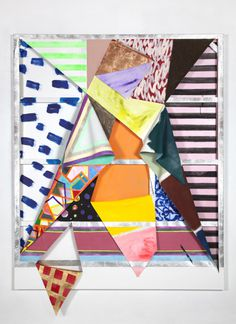Sarah Cain | PICDIT #design #color #colour #painting #art #paper