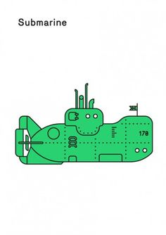 Print-Process / Product / Submarine