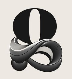 Alphabetica | Type Treatments on Behance #lettering #design #graphic #illustration #typography