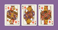 Animal Kingdom Jeffrey Bucholtz #bucholtz #jeffrey #royal #animals #suits #cards