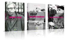 Director's stories - Book Series - Cover Design #francis #coppola #ford #design #book #directors #cover #woody #scorsese #allen #caselli #anna #martin