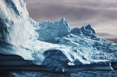 Pastel Icebergs by Zaria Forman 4 #painting #sea #art