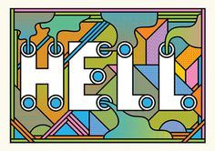 Hell #super #mundane #typography