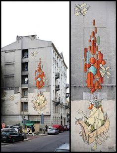 Cargo #marcointoxicated #streetart #warsaw #demons #sepe+chazme