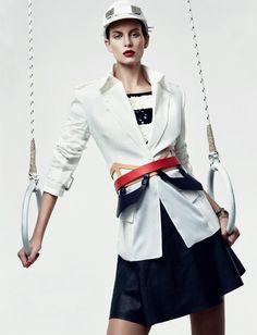 ELLINORE ERICHSEN FOR VOGUE TURKEY #fashion #model #photography #girl
