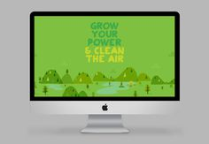 GrowEnergy.org events branding & illustration on Behance #tree