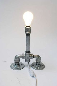Pipe Lamp #lamp #pipes
