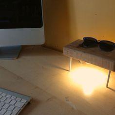 IMG_3061 #design #night #wood #desk #light