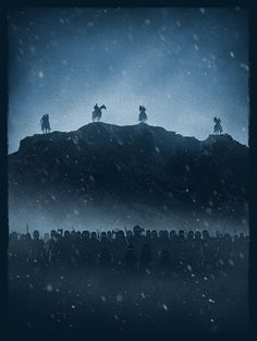 Marko Manev #Illustration #Poster #GameofThrones #GoT #HBO #Fantasy