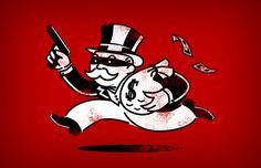 The Last Move | Flickr – Compartilhamento de fotos! #monopoly #money #thief