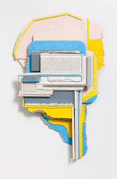Ryan Sarah Murphy | PICDIT #sculpture #design #yellow #art #blue #collage