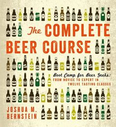 The Complete Beer Course Book #cover #illustration