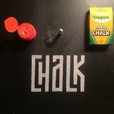 Lettering on Behance #lettering #kerning #geometric #chalk #typography