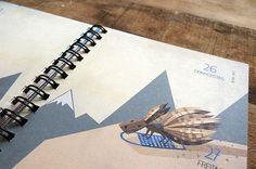 Prinz Apfel Calendar 2014 #prinzapfel #planner #illustration #agenda