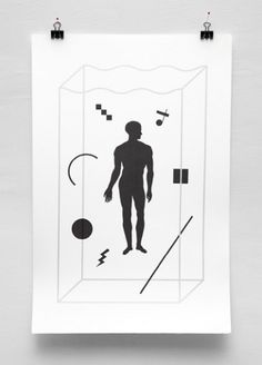Ill Studio - Diving Club #white #screenprint #black #illustration #diving #poster #and #ill #club