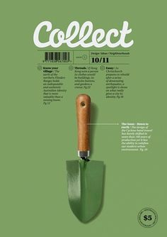 Collect Magazine - Creative Journal #modern #publication #clean #cover #magazine