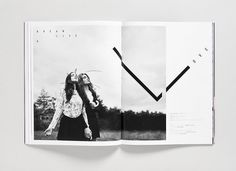 Poster Magazine - Toko Design #white #black #and #layout #editorial