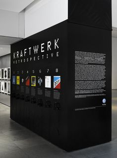 Kraftwerk The Department of Advertising and Graphic Design #typography