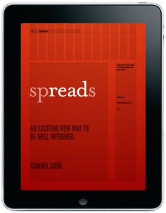 Meet Spreads for iPad #grid #app #red #ipad
