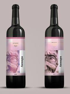 Wine on Behance