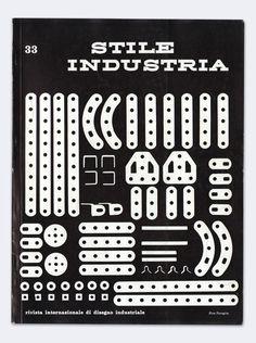 Pino Tovaglia — Stile Industria No. 33 (1961) #poster