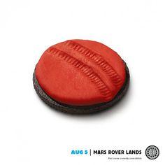 Oreo: Mars Rover #mars #clever #oreo