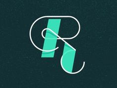 Dribbble - R you ready to rumble... by J Fletcher Design #letter #type #illustration #r