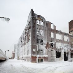 CJWHO ™ #chicago #landcape #design #photography #architecture #nature #fire #warehouse #ice