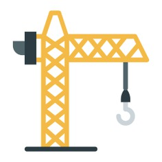 See more icon inspiration related to crane, construction, lift, hook and construction and tools on Flaticon.