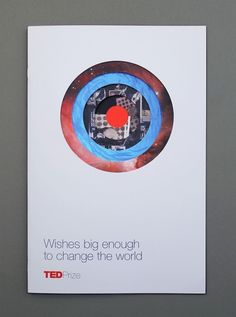 FPO: TEDPrize Brochure #universe #ted #diecut