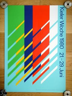 All sizes | Kieler Woche Poster - 1980 | Flickr - Photo Sharing!