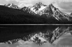 Ansel Adams: The Legend of Landscape Photography #inspiration #white #black #photography #and