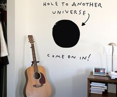 Hole to Another Universe Wall Decal