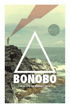 Bonobo #concertposter #poster #concert #show