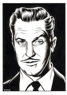 Charles Burns 32 (Vincent Price) #burns