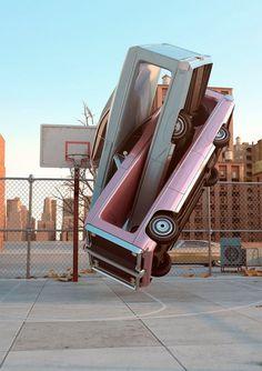 Automotive acrobatics
