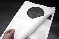 Richard Murray + Graphic Design #newsprint #rich #defense #murray #praesidium #extrema