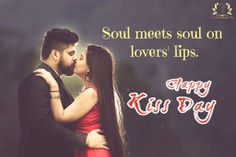 Happy Kiss day 2020 quotes with images
